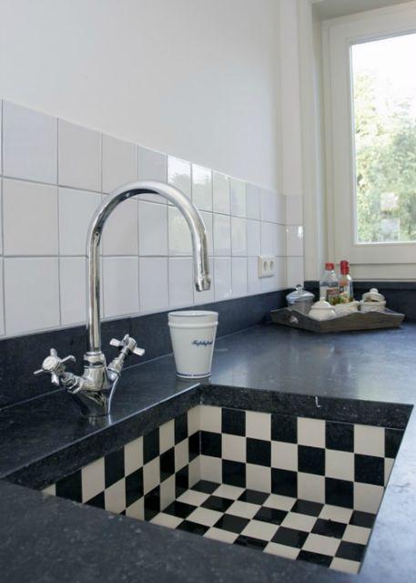 Zwart Wit Tegels Keuken : Thijs van de Wouw Keukens – Bijzonder wit