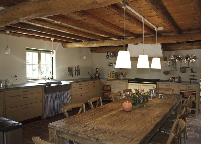 Industriele Keuken Tweedehands : Thijs van de Wouw Keukens – Eiken Nostalgie