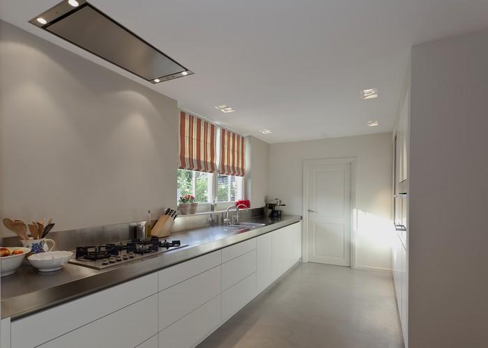 Keuken greeploos mat wit inspiratie het beste interieur - Idee deco keuken wit ...