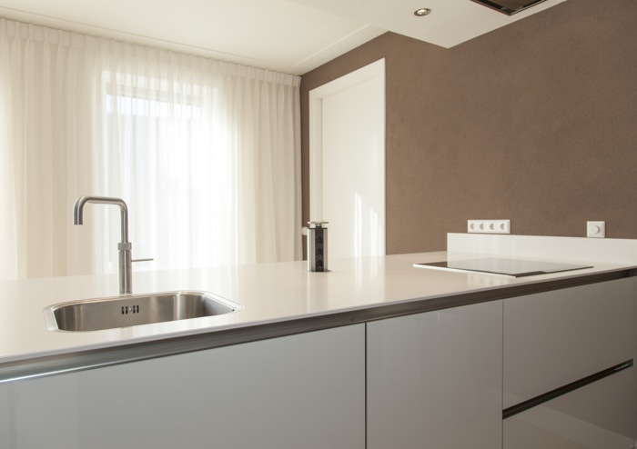 Glazen Achterwand Keuken Ikea : Keuken Met Notenhout : Thijs van de Wouw Keukens Hoogglans en