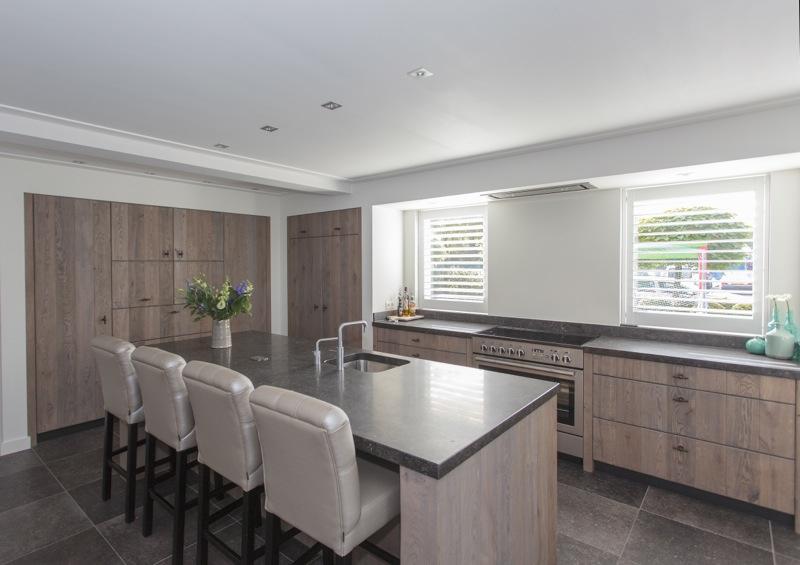 Stoere Keuken Grey : Thijs van de wouw keukens modern stoer eiken