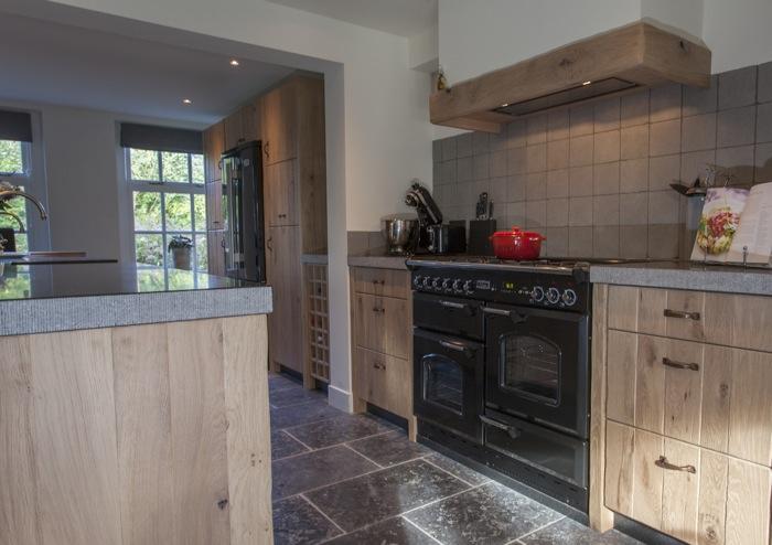 Eiken Frontjes Keuken : Thijs van de wouw keukens oud eiken