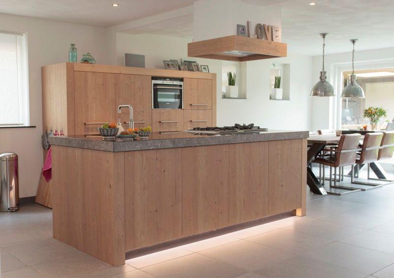 Thijs van de wouw keukens robuust eiken - Keuken licht eiken ...