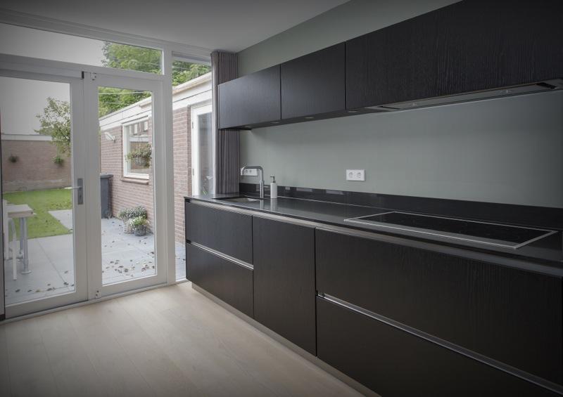 Keuken Zwart Stoere : Thijs van de wouw keukens stoer zwart