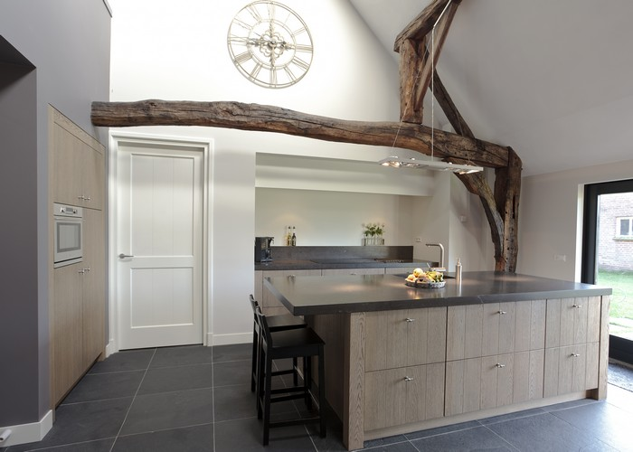 Keuken Kastenwand Met Nis : Thijs van de Wouw Keukens – Eiken design