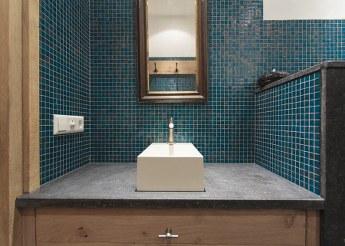 Thijs van de wouw keukens badkamer in stijl - Badkamer blauw ...