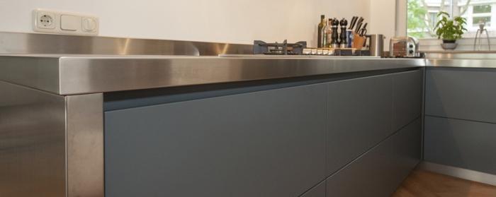 Composiet Werkblad Forum: Foto s van keukens bouwinfo.