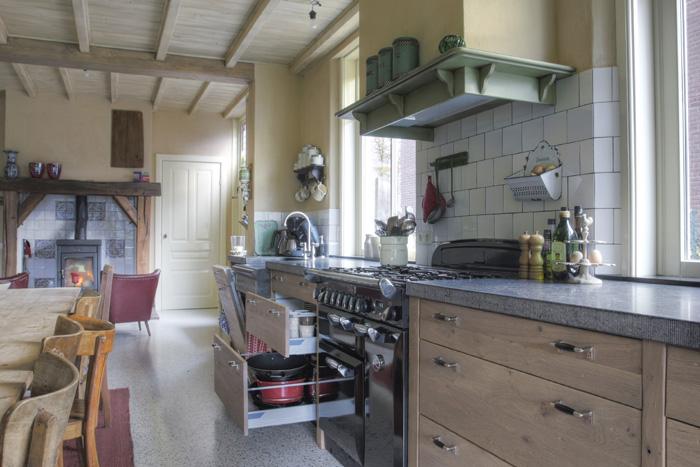 Moderne Warme Keuken : ... keuken loopt bijzondere details maken deze ...